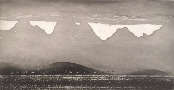 Connemara From Macdara's Island by Norman Ackroyd