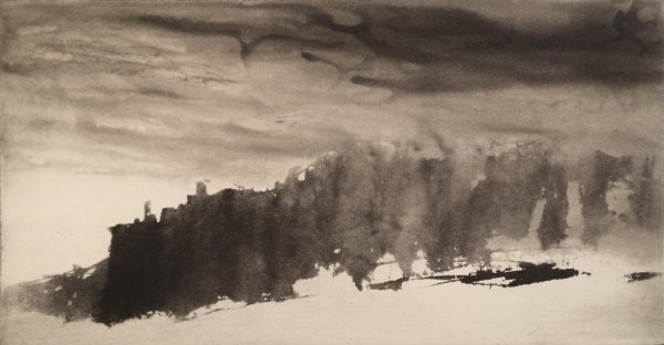 Hag's Head, Co.clare by Norman Ackroyd