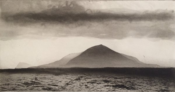 Isle Of Pabbay, Hebrides by Norman Ackroyd