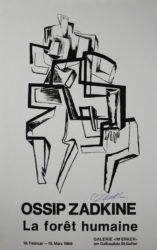 La Forêt Humaine by Ossip Zadkine at Sylvan Cole Gallery