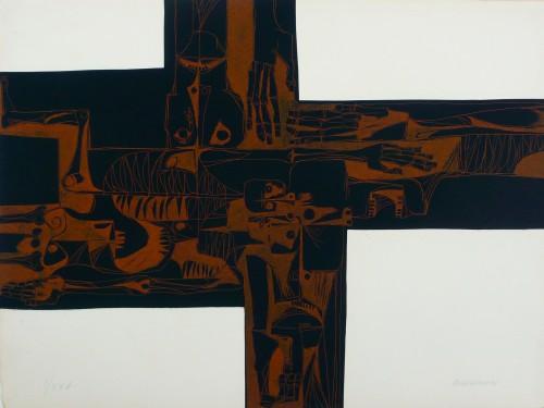 Lidice 2 Variante by Oswaldo Guayasamin at