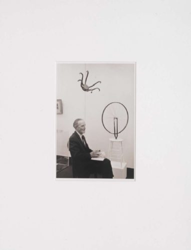 Marcel Duchamp In The Exhibition … 1965-2007 by Otto Umbehr (Umbo)