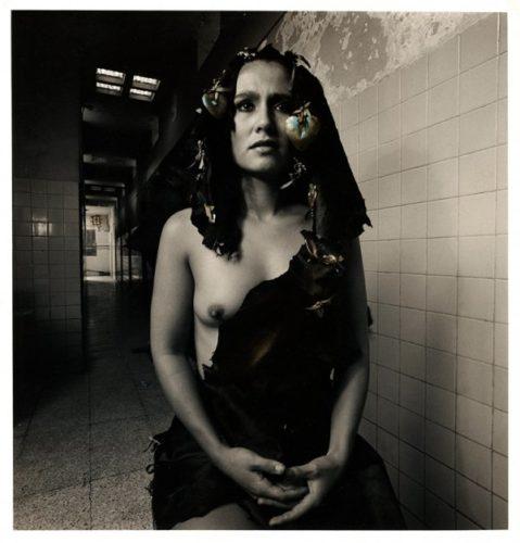 Xipe Totec (en Los Banos De Tacobaya) by Oweena Camille Fogarty at