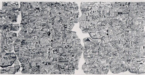 World Map by Oyvind Fahlstrom