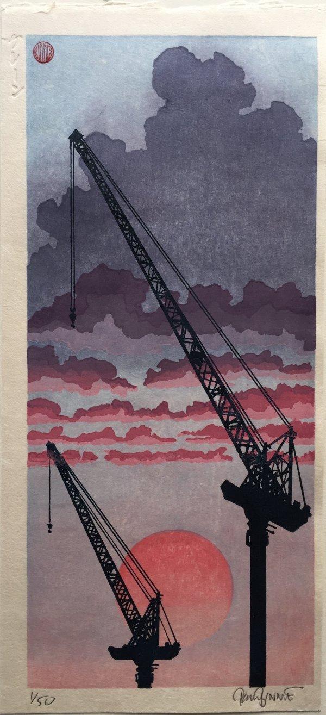 Cranes by Paul Binnie