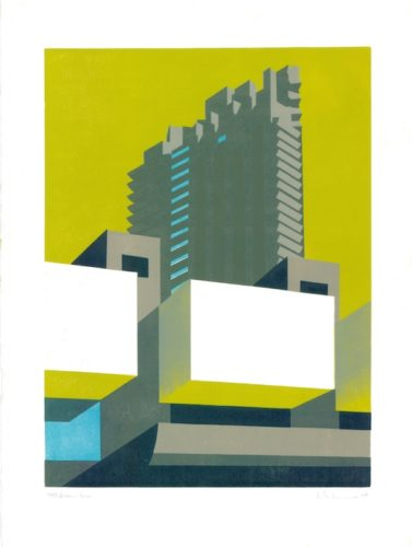 Barbican Lime by Paul Catherall