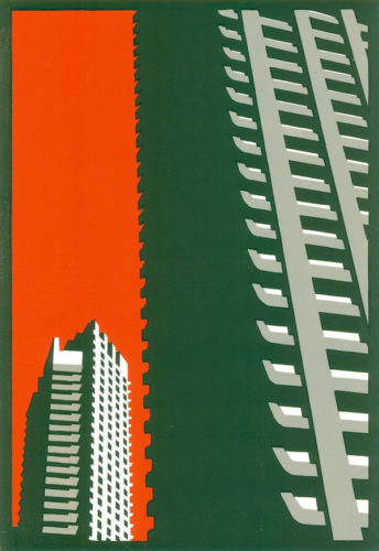 Barbican Orange by Paul Catherall