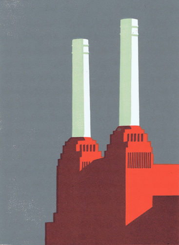 Battersea Slate Ii by Paul Catherall