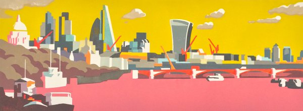 City Of London Olive by Paul Catherall