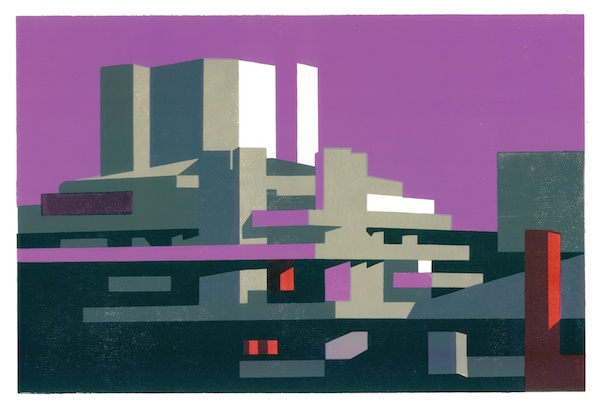 National Magenta by Paul Catherall