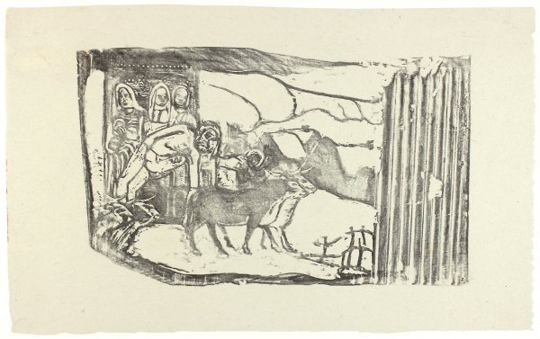 Le Calvaire Breton (breton Calvary) by Paul Gauguin