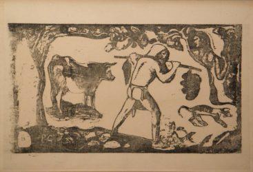Le Porteur De Feï by Paul Gauguin at Sarah Sauvin (IFPDA)
