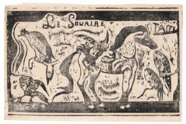 Titre Pour « Le Sourire » by Paul Gauguin at Sarah Sauvin (IFPDA)