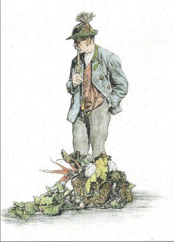 Der Gemüsemann / The Vegetable Seller by Paul Geissler