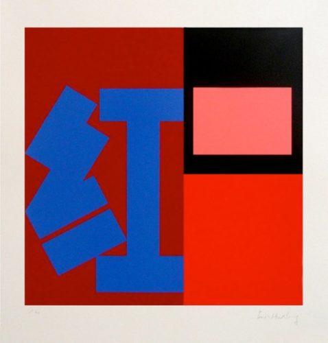 Hong (red) by Paul Huxley