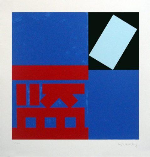 Lang (blue) by Paul Huxley