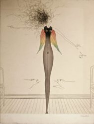 Tangled Hair by Paul Wunderlich at Editions Graphiques Ltd