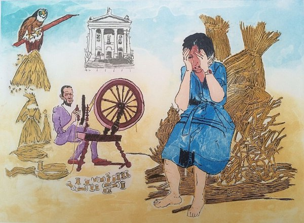Rumpelstiltskin by Paula Rego at