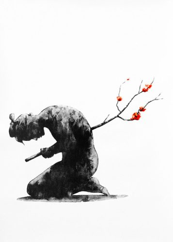 Seppuku by Pejac at