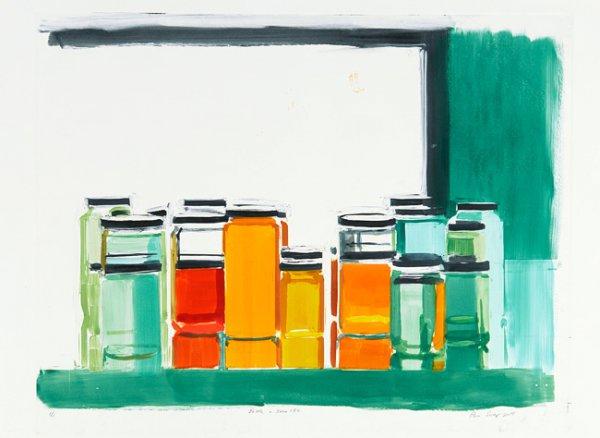 Bottles & Jars 13c by Peri Schwartz