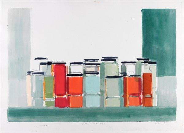 Bottles & Jars 16b by Peri Schwartz
