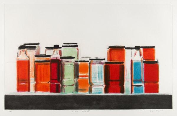Bottles & Jars Iii by Peri Schwartz