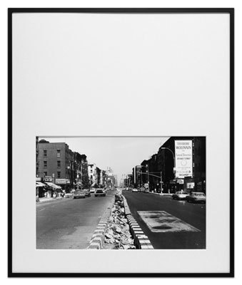 Untitled, New York City by Peter Downsbrough at Krakow Witkin Gallery (IFPDA)