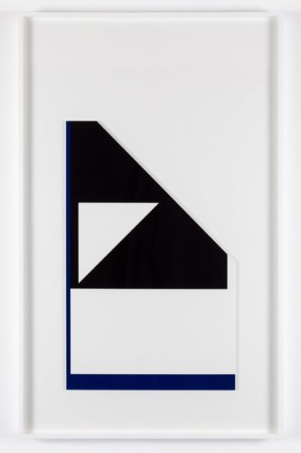 'diagonal Reflex Edge' by Peter Saville at