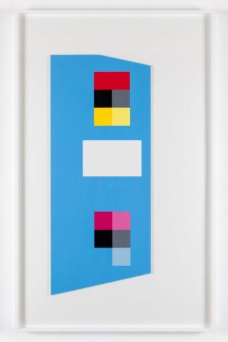 'irregular Cerulean Blue' by Peter Saville