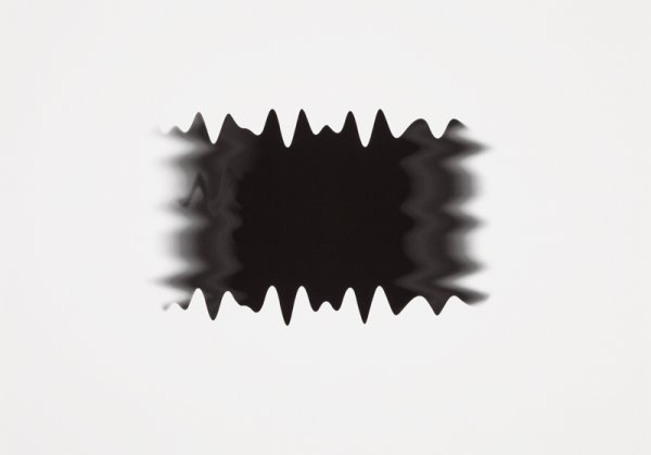 New Wave Black I by Peter Saville at Peter Saville