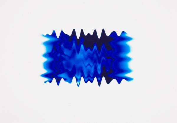 New Wave Blue Ii by Peter Saville at Peter Saville