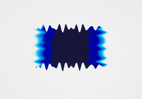 New Wave Blue I by Peter Saville at Peter Saville