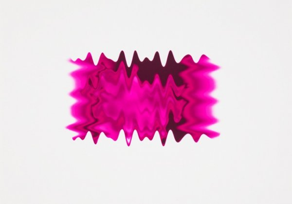 New Wave Pink Ii by Peter Saville at Peter Saville
