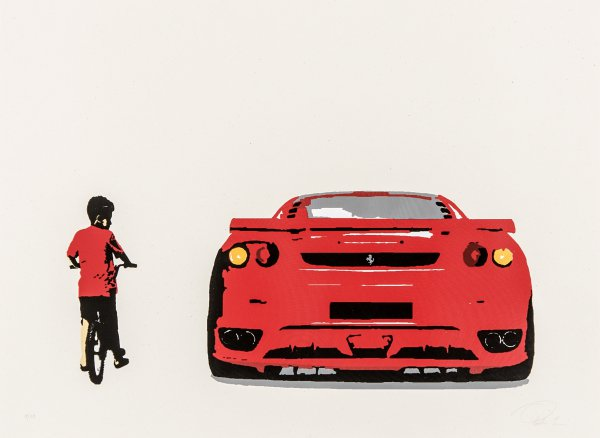 Envy (ferrari) by Plastic Jesus at