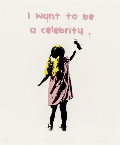 I Want To Be A Celebrity by Plastic Jesus