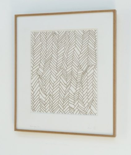 Herringbone Floor by Rachel Whiteread at