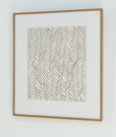 Herringbone Floor by Rachel Whiteread
