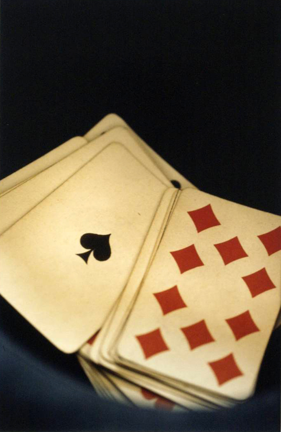 Cards (from L' Histoire De France) by Ralph Gibson