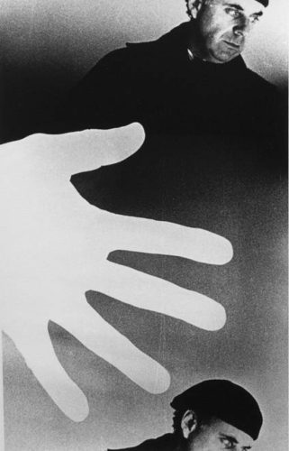 The Main Act (self Portrait) by Ralph Gibson at
