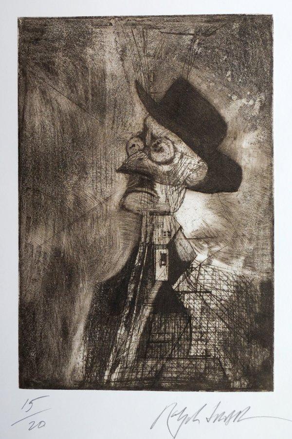 James Joyce by Ralph Steadman