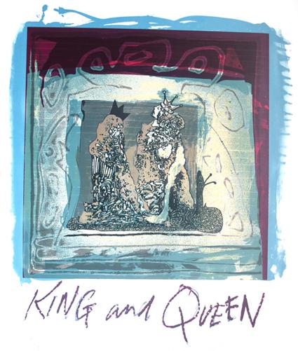 King & Queen by Ralph Steadman