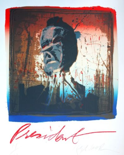 President by Ralph Steadman at