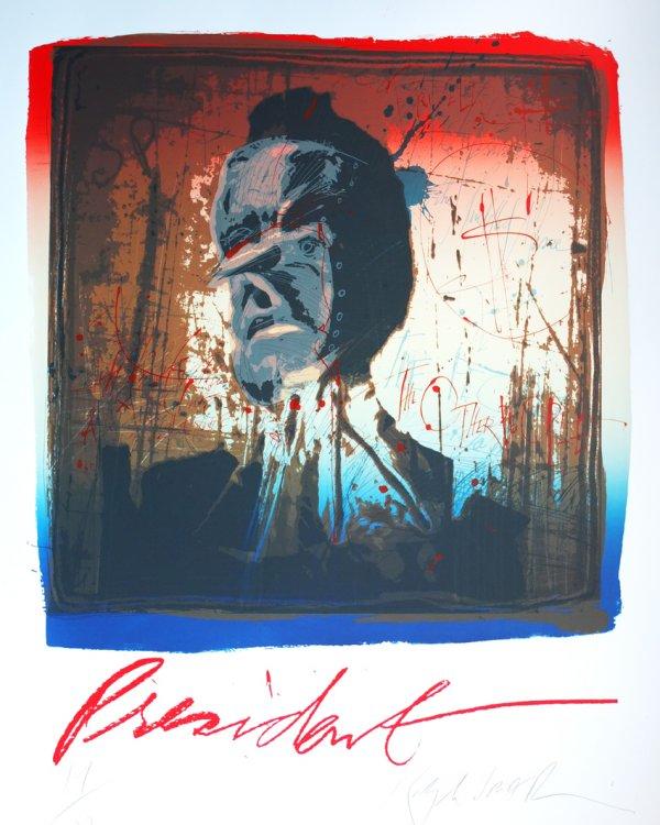 President by Ralph Steadman