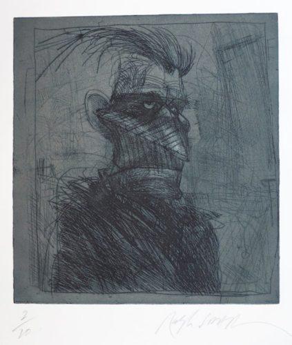 Samuel Beckett by Ralph Steadman