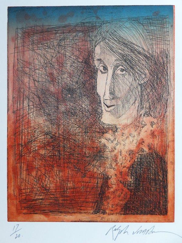 Virginia Woolf Iii by Ralph Steadman