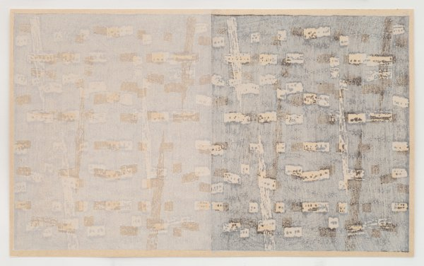 Weft 1 by Rebecca Salter RA