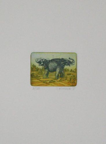 Elefanten by Reimund Franke