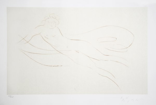 Leda And The Swan – 5 by Reuben Nakian