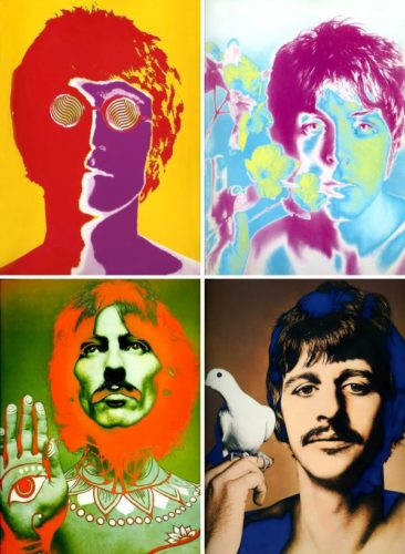 The Beatles by Richard Avedon at Michael Lisi/Contemporary Art
