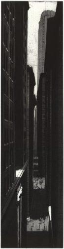 Wall Street Canyon by Richard Haas at